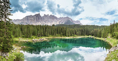 Photograph - Lake Of Carezza - Italy by Pier Giorgio Mariani