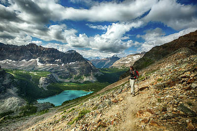 Photograph - Lake O'hara Adventure by Jay Moore