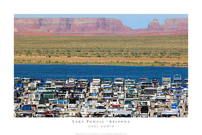 Photograph - Lake Powell Arizona by Carl Amoth