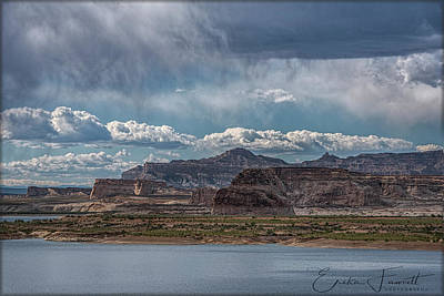 Photograph - Lake Powell by Erika Fawcett