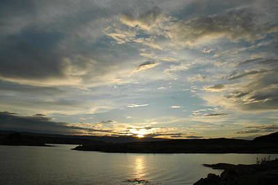 Clouds Rights Managed Images - Lake Powell Sunset Royalty-Free Image by Todd and Ashleigh Madsen