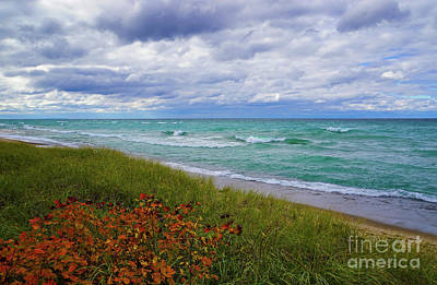 Photograph - Lake Superior Colors by Rachel Cohen