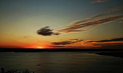 Photograph - Lake Travis Sunset 2 by Judy Vincent