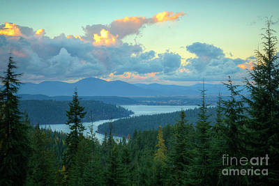 Photograph - Lake View by Idaho Scenic Images Linda Lantzy