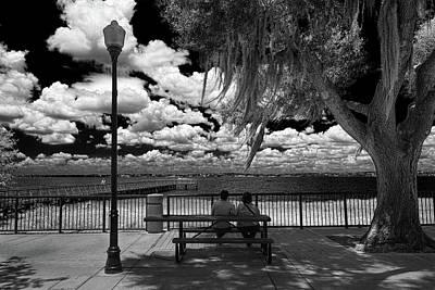 Photograph - Lake View by Lewis Mann