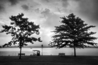 Lakeside Park I Art Print by Steven Ainsworth