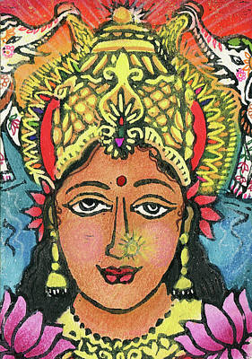 Mixed Media - Lakshmi by Jennifer Mazzucco