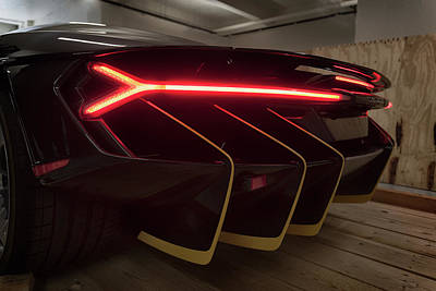 Photograph - #lamborghini #centenario #print by ItzKirb Photography