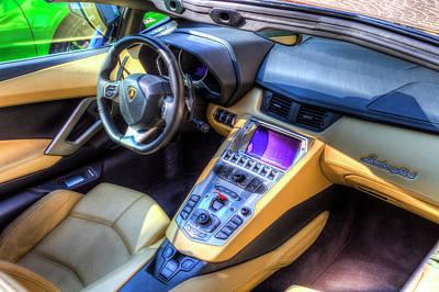 Photograph - Lamborghini Huracan by David Pyatt
