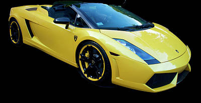 Photograph - Lamborghini Three by Caroline Stella