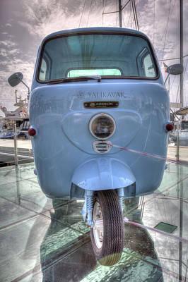Photograph - Lambretta Arcelik Lambro 200 by David Pyatt