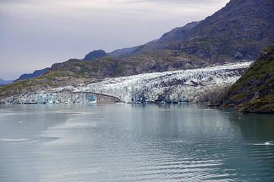 Photograph - Lamplugh Glacier by Richard J Cassato