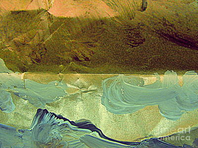 Painting -  Land And Sea by Nancy Kane Chapman