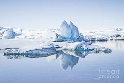 Photograph - Land Of Ice by Evelina Kremsdorf