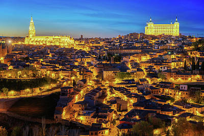Photograph - Land Scape Of Toledo Old City by Anek Suwannaphoom