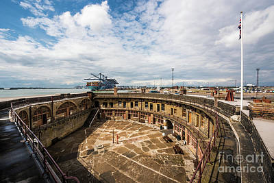 Landguard Fort Art Print
