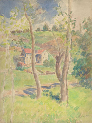 Painting - Landscape by Camille Pissarro
