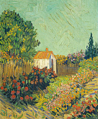 Painting - Landscape by Imitator Of Vincent Van Gogh