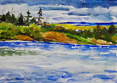 Painting - Landscape by Ingrid Dohm