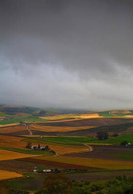 Farmscapes Photograph - Landscape Near Torre Alhaquime, Cadiz by Panoramic Images