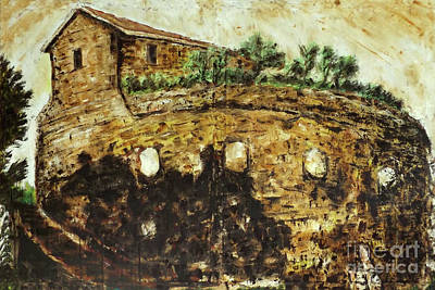 Painting - Landscape Roman Campagna, Italy by Alessandro Nesci