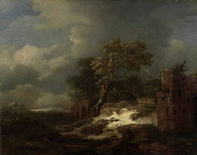 Anchor Down Royalty Free Images - Landscape with Ruins, Jacob Isaacksz. van Ruisdael, 1650 - 1682 Royalty-Free Image by Jacob Isaacksz van Ruisdael
