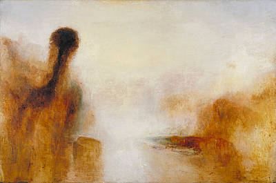 Joseph Painting - Landscape With Water by JMW Turner