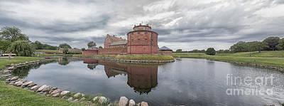 Landskrona Citadel Panorama Art Print by Antony McAulay
