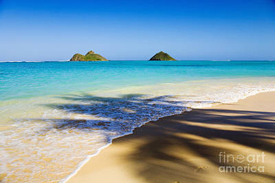 Photograph - Lanikai, Mokulua Islands by Tomas del Amo - Printscapes