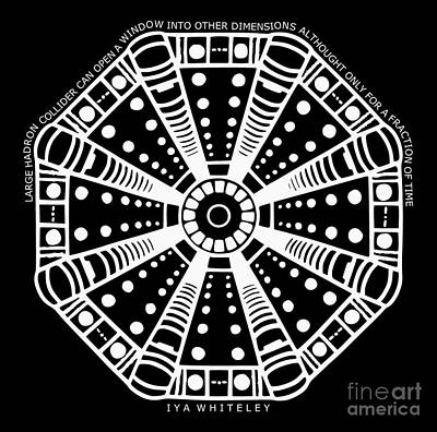 Large Hadron Collider Window Into Other Dimensions Art Print