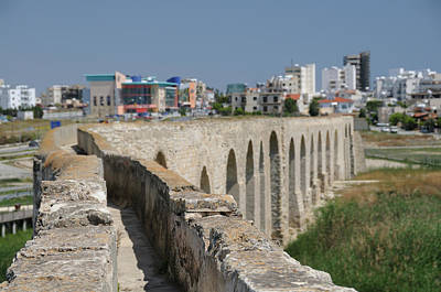 Photograph - Larnaca Aquaduct by Jeremy Voisey