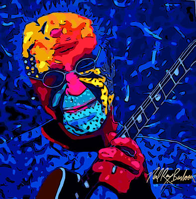 Larry Carlton Art Print