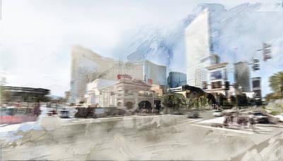 Las Vegas 6 Art Print