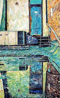 Painting - Last Door Standing Tallahassee by Caroline Krieger Comings