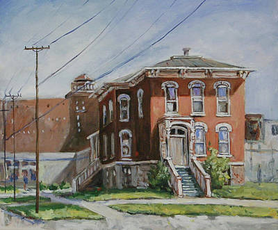 Painting - Last House Standing by Ingrid Dohm