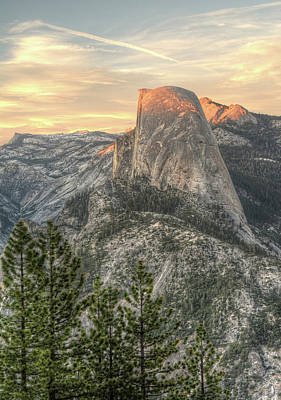 Photograph - Last Light On Half Dome by Michael Kirk