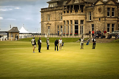 Photograph - Last Put St Andrews Golf Club by Alex Saunders