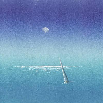 Painting - Last Sail by Lisa Le Quelenec