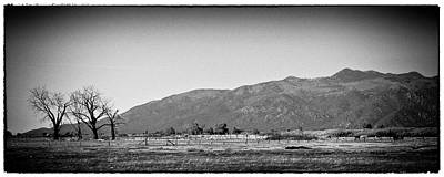 Farms Photograph - Late Afternoon In Taos by David Patterson