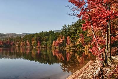 Photograph - Late Afternoon On Lake Chocorua by Jeff Folger