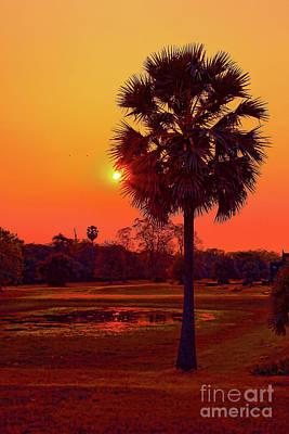 Photograph - Late Sunset by Rick Bragan