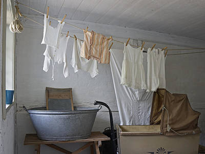 Photograph - Laundry Day by Inge Riis McDonald