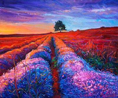 Lavender Art Print by Boyan Dimitrov