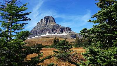 Photograph - Logan Pass At Glacier National Park by Joe Duket