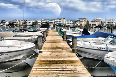 Photograph - Long Beach Island Bay by Diana Angstadt