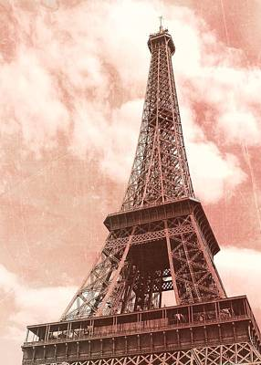 Photograph - Le 58 Tour Eiffel Pink by JAMART Photography