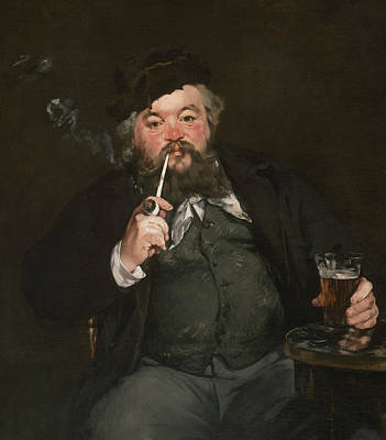 Painting - Le Bon Bock by Edouard Manet