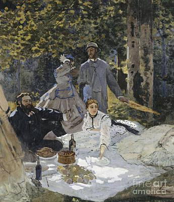 Century Painting - Le Dejeuner Sur L'herbe by Celestial Images