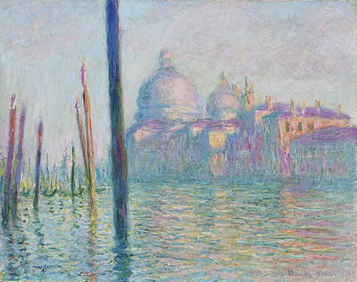 Painting - Le Grand Canal by Claude Monet