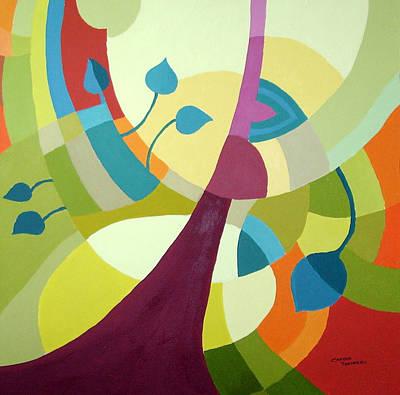 Leaning Towards Fall Art Print by Carola Ann-Margret Forsberg